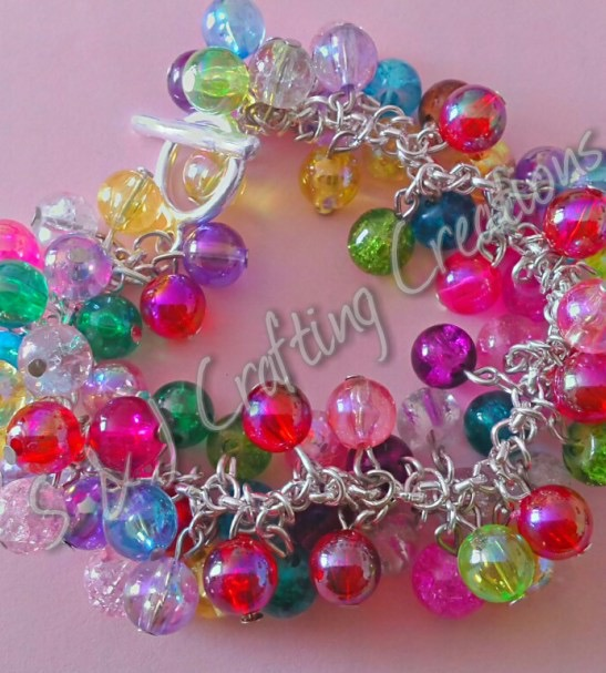 multi coloured bracelet